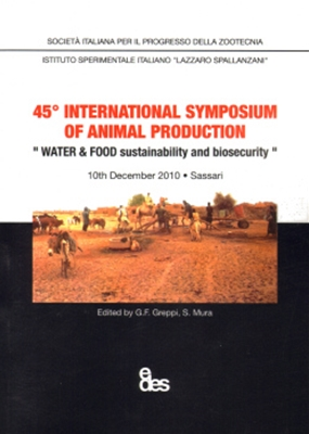 45° international symposium of animal production